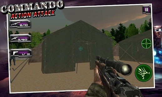 Commando Sniper Shooter Attack - screenshot