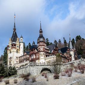 Peles Castle by Jean Bogdan Dumitru - Buildings & Architecture Public & Historical ( peles, sinaia, romania, castle, peles castel )