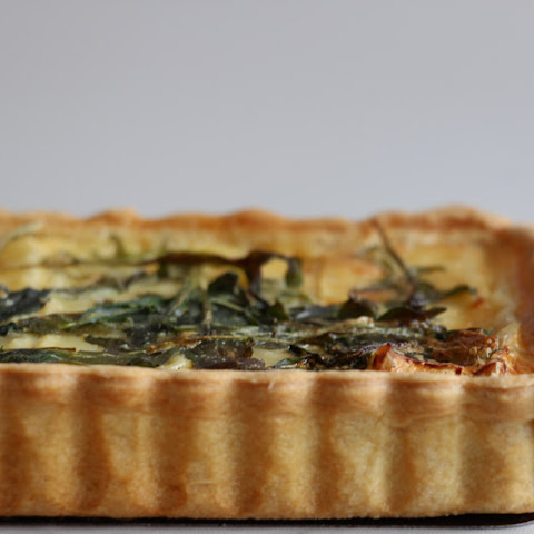 Brie & Caramelized Onions Quiche