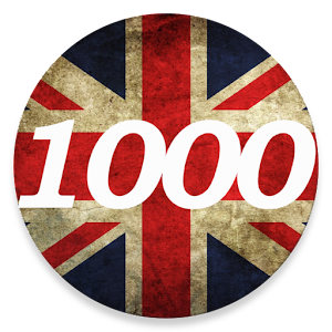 1000 words - English