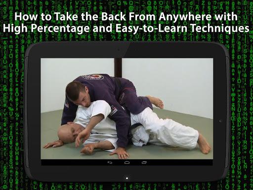 The BJJ Back Attacks Formula - screenshot