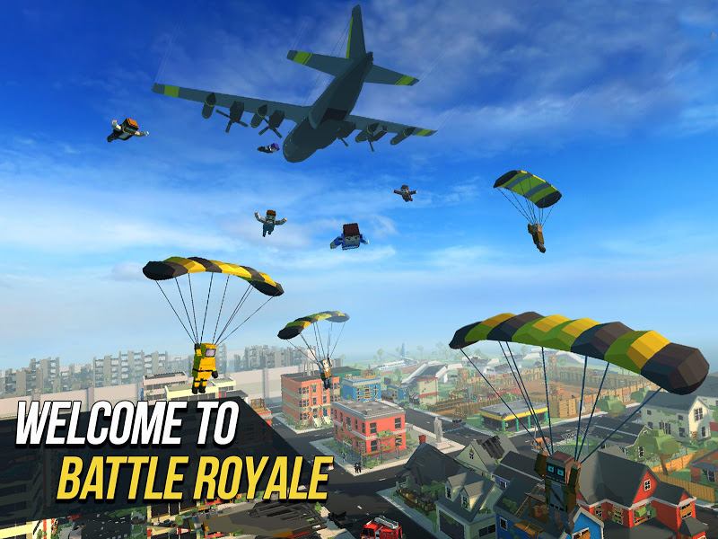 Grand Battle Royale: Pixel FPS Screenshot 0