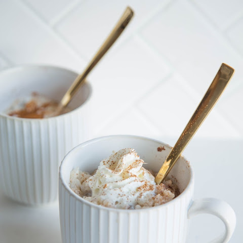 Rice Pudding in a Mug