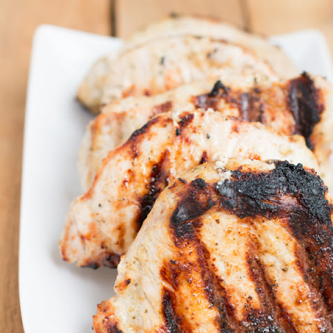 Buttermilk Grilled Pork Chops