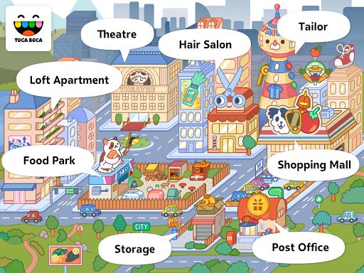 Toca Life: City screenshot 11