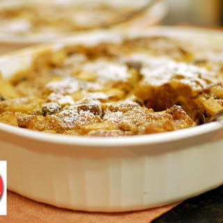 Apple 'N Peanut Butter Bread Pudding