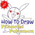How To Draw Pikachu Pokemon
