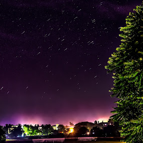 by Soumyaroop  Chatterjee  - Landscapes Starscapes ( canon 600d, hdr, kolkata, stars, night, long exposure,  )