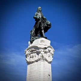 The Marquis de Pombal by Michael Villecco - Buildings & Architecture Statues & Monuments ( statue, marquis, monument, lisbon, portugal,  )