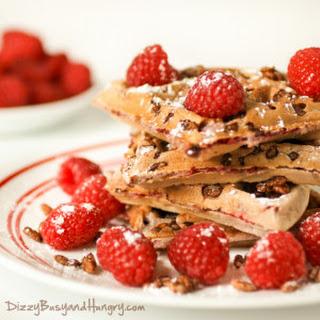 Raspberry White Chocolate Waffle Recipes