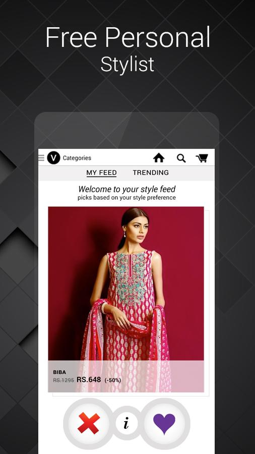 Voonik Online Shopping Women Screenshot