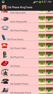 Old Phone Ringtones - screenshot