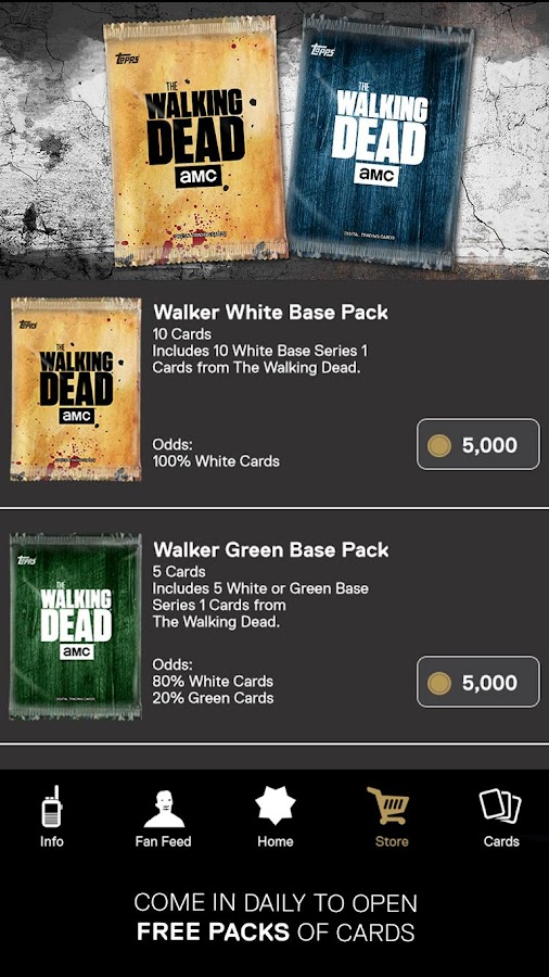 The Walking Dead: Card Trader Screenshot 2