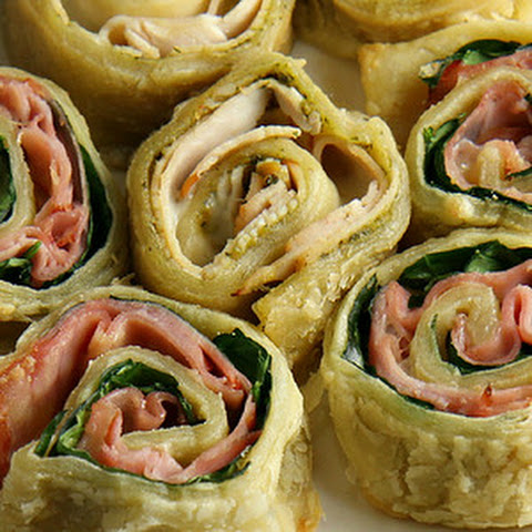Easy Puff Pastry Roll Up Snacks