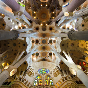 sagrada de famila by Mick Barroga - Buildings & Architecture Places of Worship