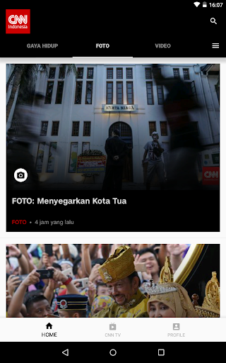 CNN Indonesia - Latest News screenshot 9