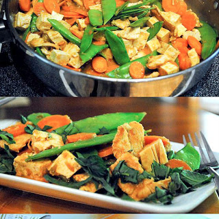 Chicken Tofu Peanut Sauce Recipes