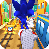 Subway Sonic Surf Run APK baixar