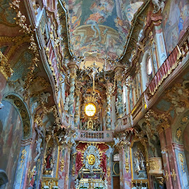 Asam Church by Zoltan Szabo - Buildings & Architecture Other Interior ( baroque, germany, church, munich, interior )