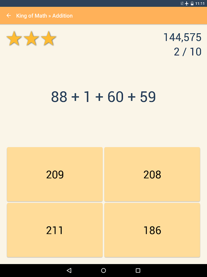 King of Math Pro Screenshot 9
