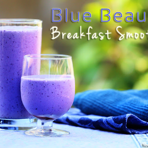 Blue Beauty Breakfast Smoothie