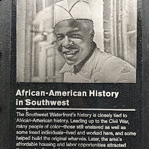 The Southwest Waterfront's history is closely tied to African-American history. Leading up to the Civil War, many people of color - those still enslaved as well as some freed individuals - lived and ...