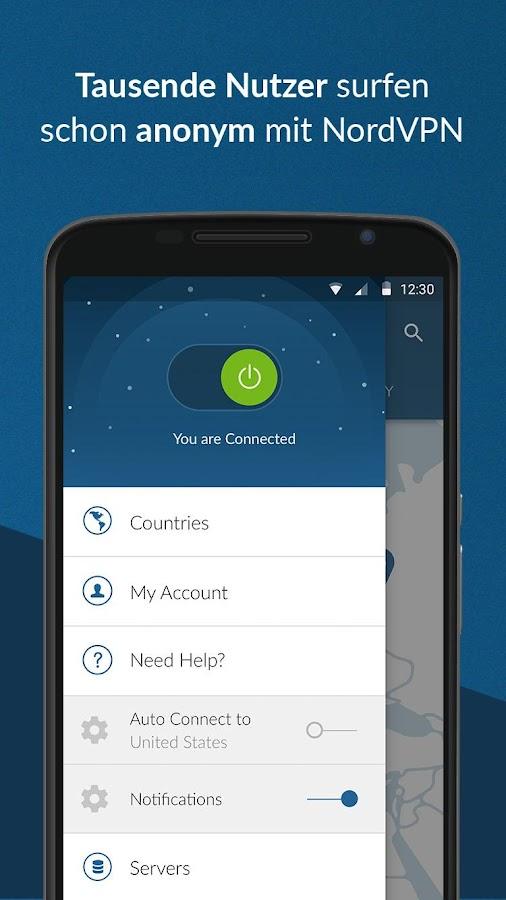 NordVPN - Schnell und sicher VPN android apps download