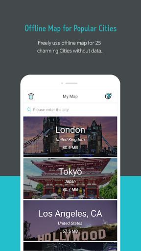TravelMaps - offline Map&Metro - screenshot