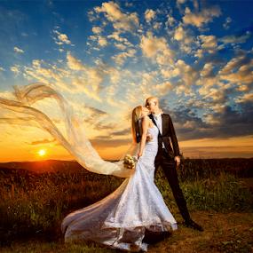 bride & groom by Dejan Nikolic Fotograf Krusevac - Wedding Bride & Groom ( aleksandrovac, vencanje, novi sad, paracin, krusevac, sunset, beograd, weding, bride, vrnjacka banja, groom )