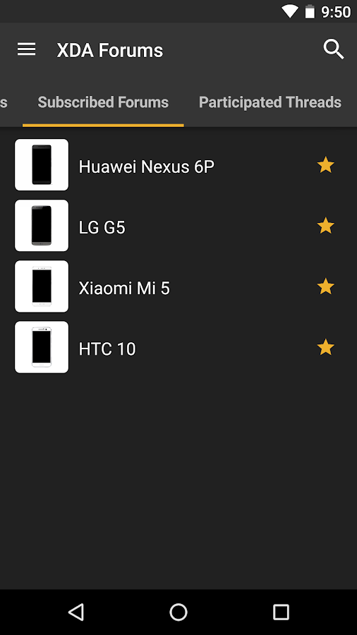 XDA Screenshot 1