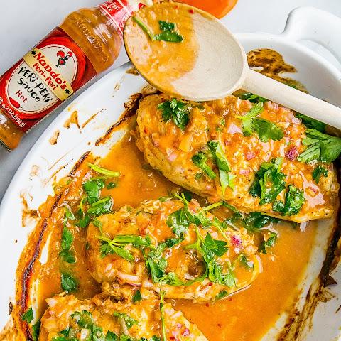 how to cook piri piri chicken breast