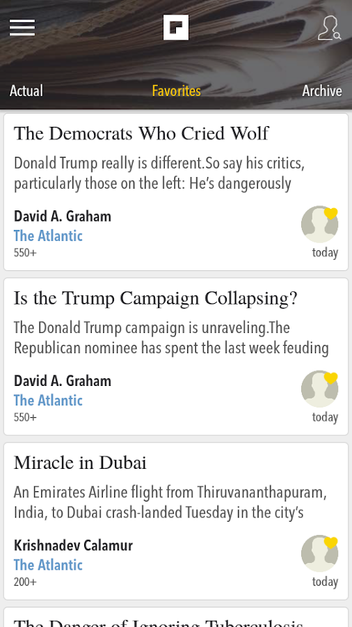 Opinions, Columnists and News Screenshot 1