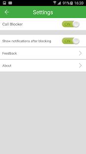 App Call Blocker - Blacklist apk for kindle fire