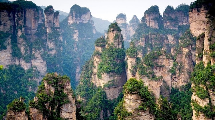 22. Tianzi Mountains, China