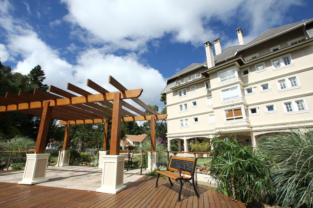 Apartamento de 1 dormitório em Bavária, Gramado - RS
