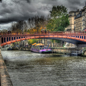 Rainy day in Paris by Gabriel Nouar - City,  Street & Park  Historic Districts