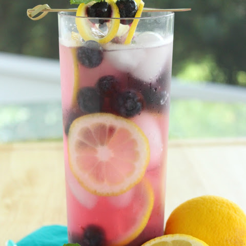 Lemon Blueberry Water