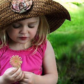 Dreaming of More Flowers by Cheryl Korotky - Babies & Children Child Portraits