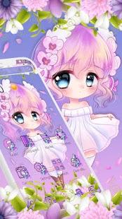 Cute Princess Kawaii Girl Theme💃 for pc