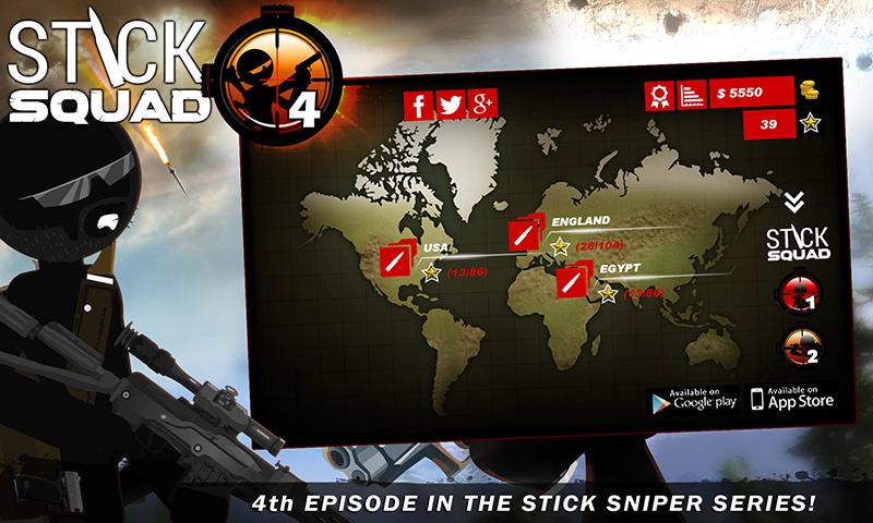 Stick Squad 4 - Sniper's Eye Screenshot 4