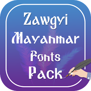 Zawgyi Myanmar Fonts Pack for PC-Windows 7,8,10 and Mac