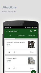 Bergamo: Offline travel guide - screenshot