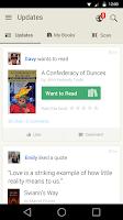 Screenshot of Goodreads