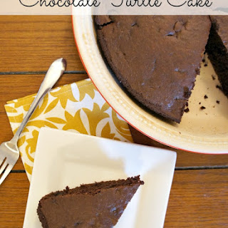 Chocolate Turtle Cake Recipe & Holiday Baking Tips #PAMSmartTips