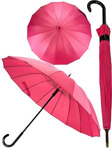 Зонт трость L, черный