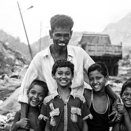 Everyone smiles in the same language by Masud Khan - People Group/Corporate ( everyone smiles in the same language )