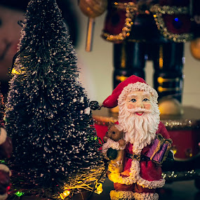 Christmas Memories by Michael Mounts - Public Holidays Christmas ( santa, christmas, decorations, ornaments )