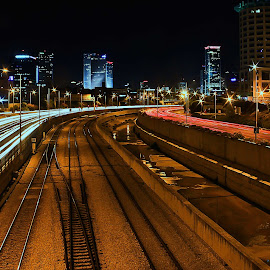 telaviv by Joel Adolfo  - Transportation Roads ( transportation, roads, railway tracks )