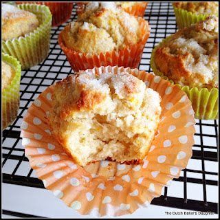 Orange-Cardamom Rhubarb Muffins