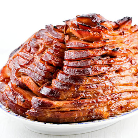 Asian Barbecue Glazed Ham